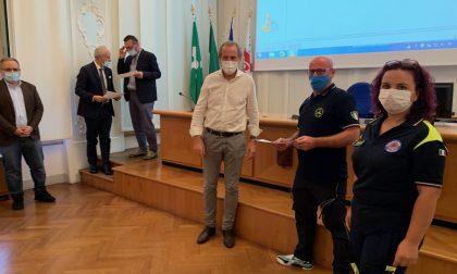 La Provincia ringrazia i volontari della Protezione Civile: riconoscimento a Venegono Inferiore e Lonate Pozzolo