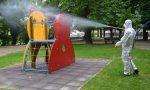 Da BrianzAcque quasi mezzo milione per la sanificazione dei giochi nei parchi