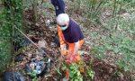 Pulizie estive nel Parco Pineta: volontari al lavoro in via Cappuccini