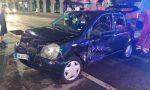 Incidente triplo a Castellanza, sette persone coinvolte FOTO