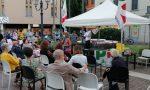 Il senatore Alfieri in piazza Libertà con Airoldi per parlare di scuola