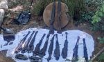 Fucili d'epoca nei boschi di Gallarate, trovati da alcuni appassionati FOTO