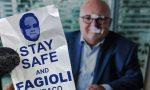 """Saronno, adesivi """"Fagioli sindaco"""" sui manifesti di Gilli e Silighini"""
