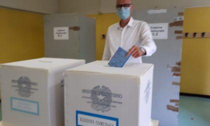 Elezioni Saronno 2020 il candidato sindaco Airoldi ha votato