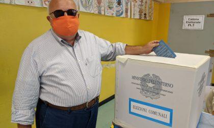 Elezioni Saronno 2020 il candidato sindaco Gilli ha votato