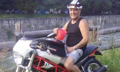 """Oggi a Gorla l'addio al """"Pata"""", deceduto dopo un incidente in moto sul Garda"""