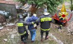 Casa invasa da fango e detriti, due persone salvate a Castelveccana FOTO