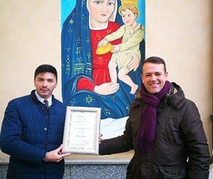 A scuola di pittura con il maestro Alfonso Restivo