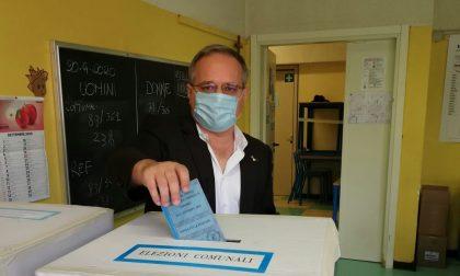 Elezioni Saronno 2020 il candidato sindaco Fagioli ha votato