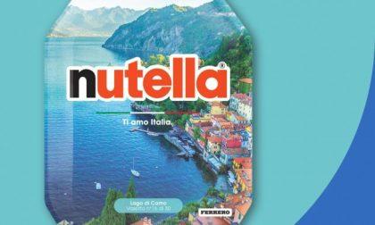 Sui barattoli di Nutella arriva il Lago di Como