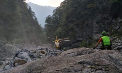 Fungiatt cade per oltre 200 metri: vivo per miracolo
