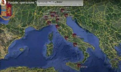 Maxi operazione  contro la Pedopornografia: perquisizioni anche a Varese