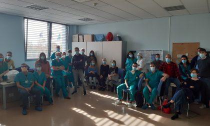 Il personale della Sette Laghi da lunedì all'Ospedale in Fiera