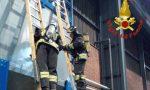 Ceriano Laghetto, incendio domato all'accieieria Terninox