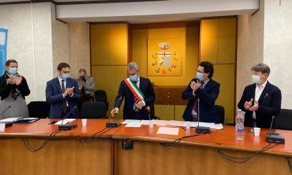 Esordio in consiglio per il nuovo sindaco di Origgio Evasio Regnicoli VIDEO