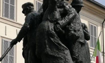 Monumento ai Caduti, completata la restaurazione a Turate