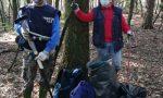 Parco delle Groane, durante la pulizia del bosco spunta  un ordigno bellico