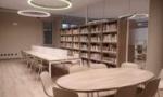 Apre la  biblioteca: spazi più ampi e un look completamente nuovo e moderno