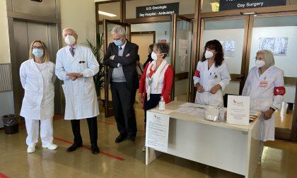 Oncologia, riaperto il day hospital all'ospedale di Saronno