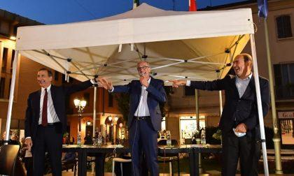 """Zingaretti e Sala a Saronno: """"Il cambiamento si chiama Airoldi"""""""