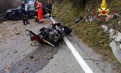 Incidente fatale a Sormano: muore un centauro di Caronno FOTO