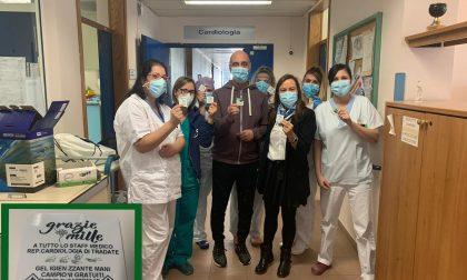 Operato al cuore e guarito grazie al Galmarini, un grazie speciale… su gel disinfettante