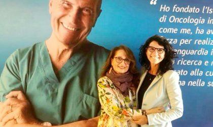 Consegnato il Premio Rosa Camuna ad Adele Patrini, presidente di CAOS