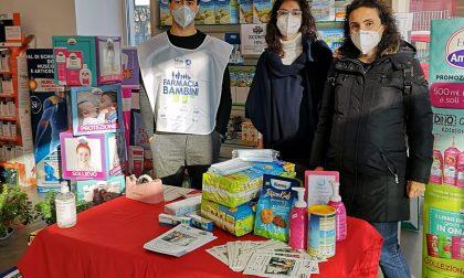 Solaro, il sindaco Moretti e la consigliera Nasta alla raccolta di farmaci