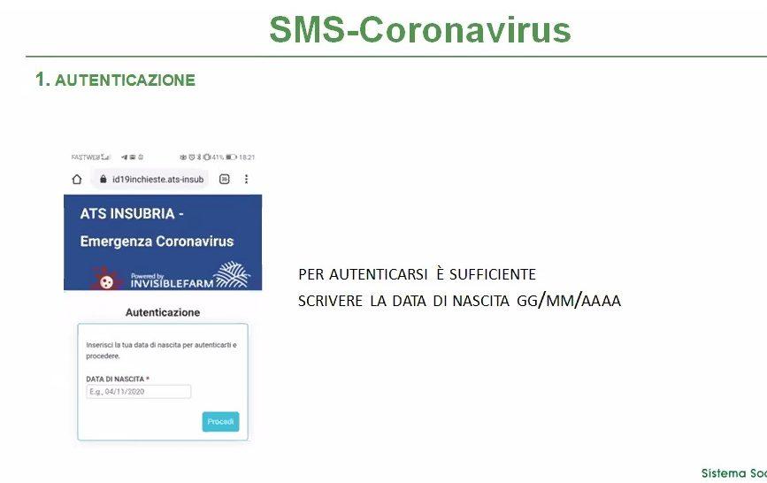 ats insubria tracciamento covid via sms