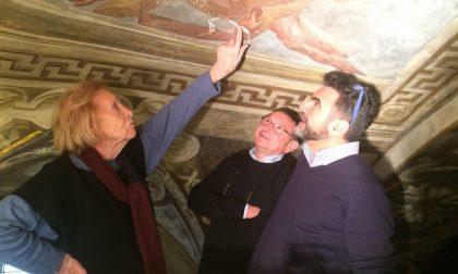 Pinin Brambilla Barcilon e i restauri nella chiesa di San Francesco a Saronno
