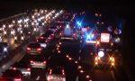 Incidente in A8, auto si ribalta: due donne in ospedale FOTO