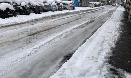 Caos neve a Saronno: AMSA riconosce al Comune 28mila euro di penali