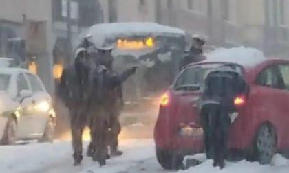 """Neve a Saronno, Airoldi: """"Spazzatura non avvenuta secondo programma. Mi scuso"""""""