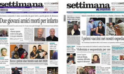 Un anno di informazione con La Settimana di Saronno: tutte le prime pagine del 2020
