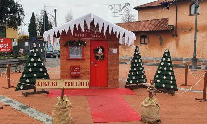 Gerenzano, danneggiata ancora la casetta di Babbo Natale