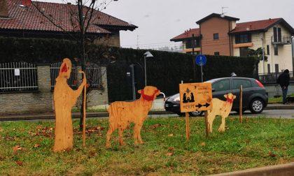 Vandalizzate le statue del presepe: la solidarietà di Abbiate agli Amici dell'asilo