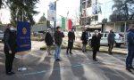 Cerimonia in piazza Libertà e omaggio alle pietre d'inciampo dei saronnesi deportati