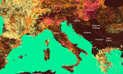 Temperature aumentate in provincia di Varese di oltre due gradi e mezzo in 50 anni