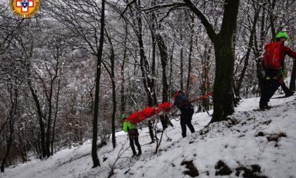 Esercitazione per il Soccorso alpino: simulazioni a sorpresa a Civate e sul Monte Lema