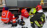 37enne travolta dal treno a Rovellasca: è gravissima