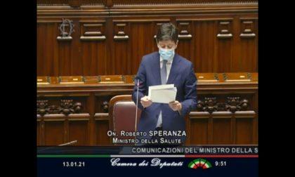 """Speranza alla Camera: """"Stop all'asporto dopo le 18, spostamento fra regioni solo in zona bianca"""""""
