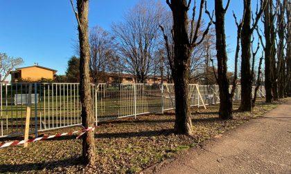 Dietrofront: sospesi i lavori al parco di via Buraschi a Saronno
