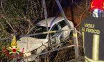 Auto fuori strada in via Campo dei Fiori, illesi i due 21enni a bordo