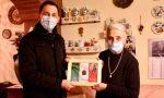 Regalo speciale per l'87enne Luigia Colombo: il piastrino militare del papà, perso 70 anni fa