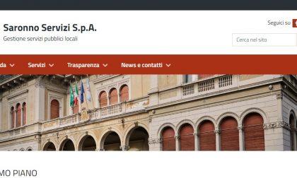 Nuovo sito web per Saronno Servizi