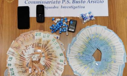Spaccio di droga tra Busto e Legnano, la Polizia arresta un 32enne