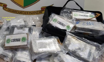55 chili di cocaina intercettati a Vedano, perquisizioni anche a Venegono, Malnate e Gornate