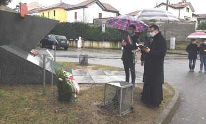 Cogliate, una targa e raccoglimento in onore delle vittime delle Foibe