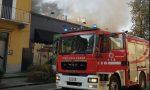 Incendio a Castellanza, le foto dell'intervento dei Vigili del Fuoco