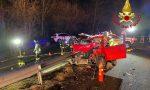 Incidente fra auto e pullman sulla Sp 45 ad Orino: due feriti